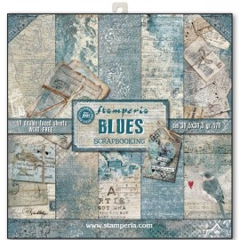 BLOCCO 10 CARTE BLUES