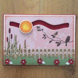 FUSTELLA SPINNER CARD DIE
