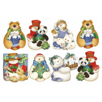 FOMMY DECO PUPAZZI NEVE