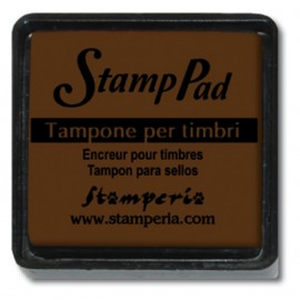 STAMP PAD MARRONE PICCOLO