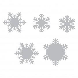 THINLITS PAPER SNOWFLAKES