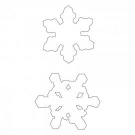 FUSTELLA SNOWFLAKES DUO
