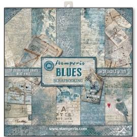 BLOCCO 10 CARTE BLUES