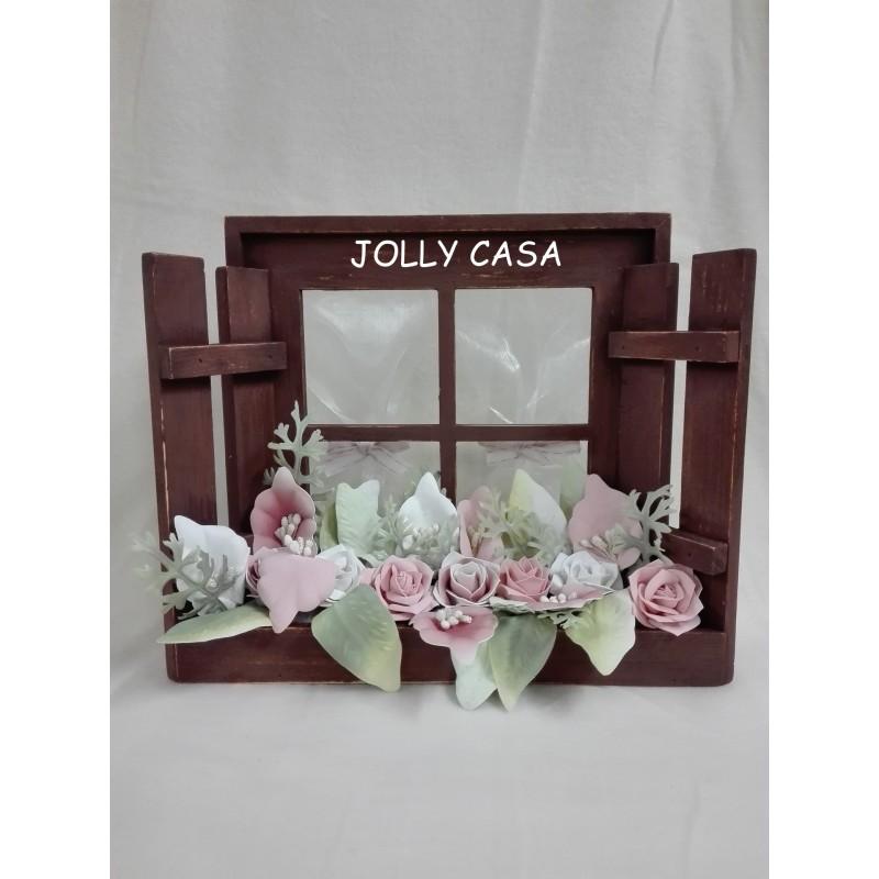 Finestra legno con balcone jolly casa hobbistica - Finestra balcone ...