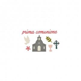 FUSTELLA PRIMA COMUNIONE