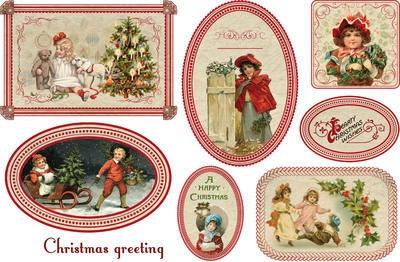 Immagini Natalizie Vittoriane.Bambine Vittoriane A Natale Jolly Casa Hobbistica