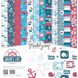 SET 12 CARTE SAILOR'S LIFE