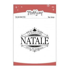 TIMBRO CLEAR NATALE